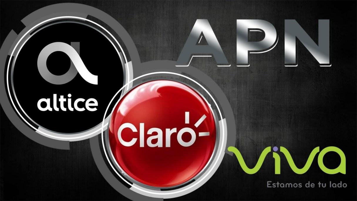 Configuración de APN Claro, Viva, Altice, Orange