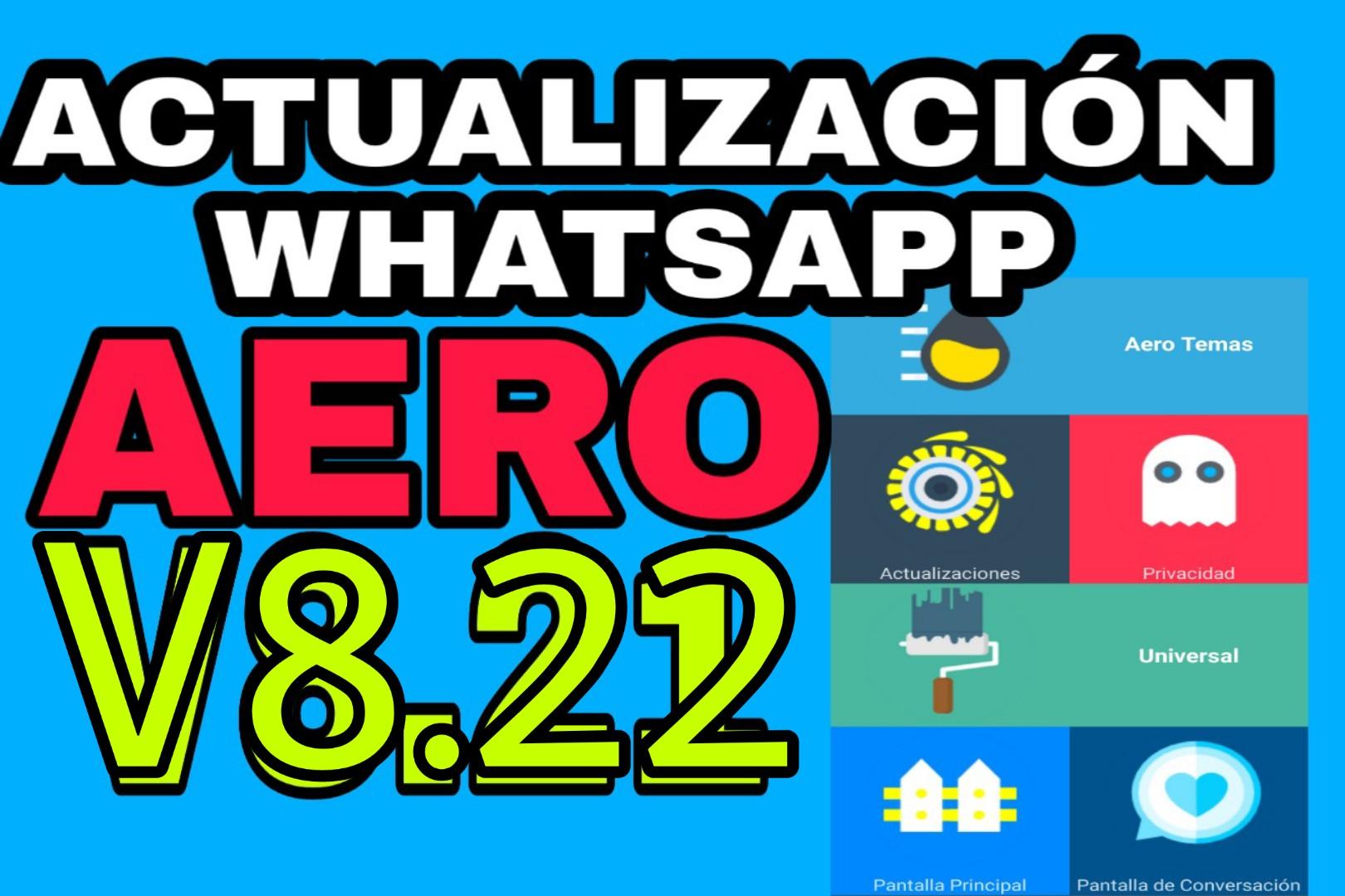 Download WhatsApp Aero 8.22